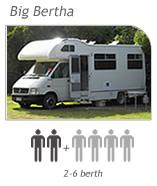 Campervan hire Nelson - Big Bertha Camper