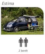 Campervan hire South Island - Estima Camper