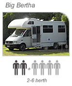 Campervan hire Nelson - Big Bertha Camper