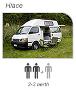 Campervan hire Picton - Hiace Camper