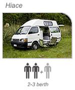 Campervan hire Picton - Hiace Camper