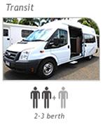 Campervan hire Picton - Transit Camper