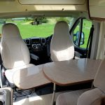2 Berth Motorhome Shower / Toilet