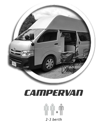 Hire and Rental campervan