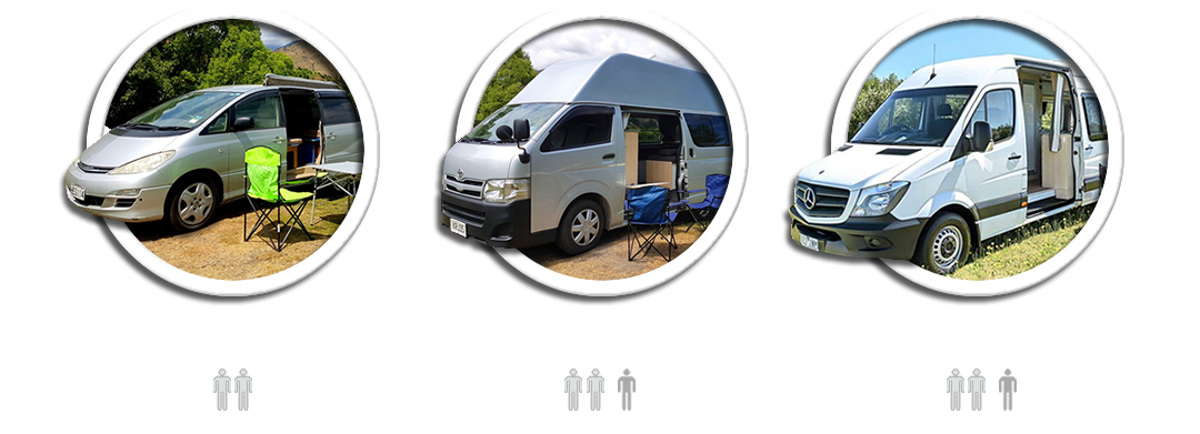 Campervan Hire and Rental in Christchurch, Nelson